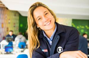 De férias, Fernanda Gentil celebra 2014 e já tem planos para 2015: 'Engravidar'