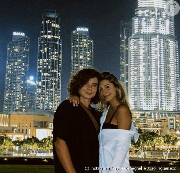 Sasha Meneghel e João Figueiredo se despedem de Dubai em lua de mel