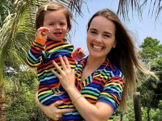 Thaeme é chamada de 'pegajosa' com filha e aconselha internauta: 'Tenta ser mais carinhosa'