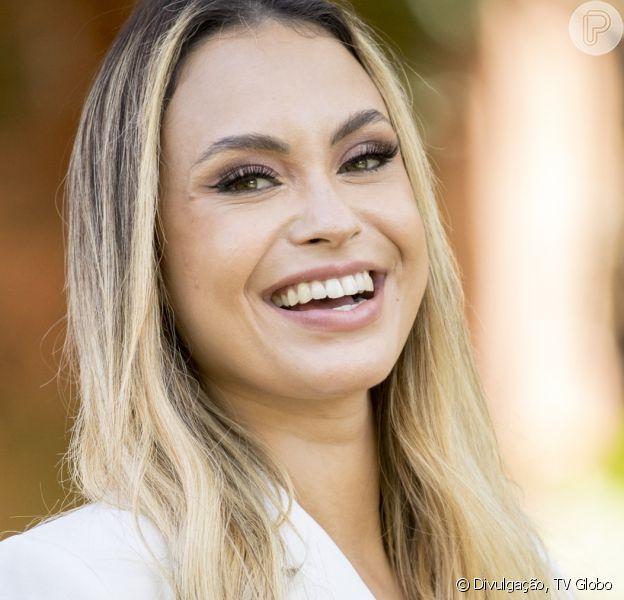 A ex-BBB Sarah Andrade pode ganhar programa no SBT, diz a coluna 'Retratos da Vida', do jornal 'Extra'