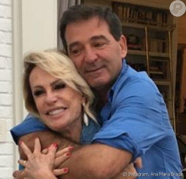 Casamento de Ana Maria Braga e empresário francês chegou ao fim após 1 ano, afirma a colunista Fabíola Reipert