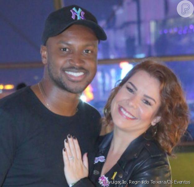 Fernanda Souza é parabenizada pelo ex, Thiaguinho, em aniversário: 'Minha melhor amiga'