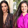 Bruna Marquezine ou Juliette? Atriz surge de cabelo comprido e fãs citam ex-BBB. Veja!