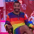 Gil do Vigor e Pabllo Vittar se encontraram em entrevista sobre o Dia do Orgulho LGBTQIA+