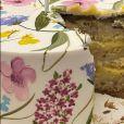Marina Ruy Barbosa garantiu que além de lindo o bolo também estava muito gostoso
