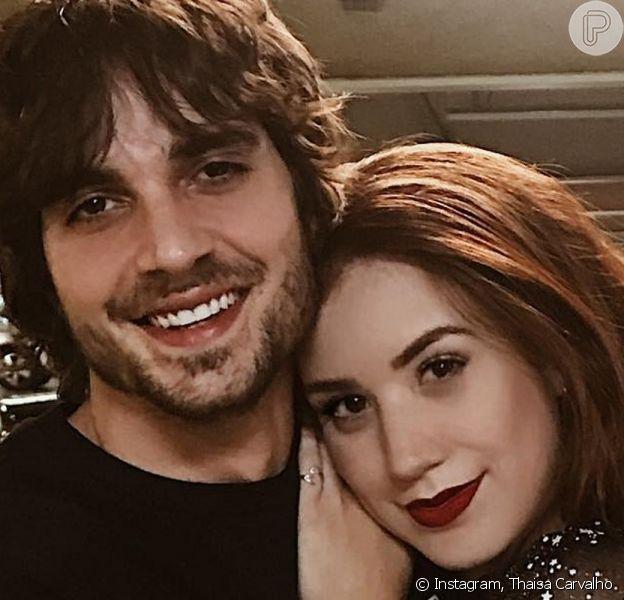 Thaisa Carvalho, nova namorada de Fiuk, conhece o cantor desde 2008