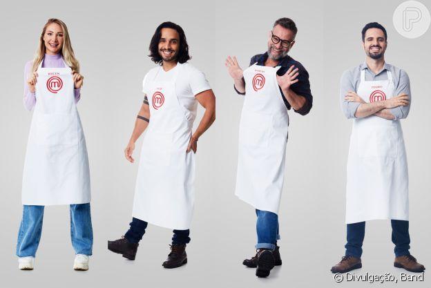Masterchef: Kelyn, Luiz, Márcio e Pedro
