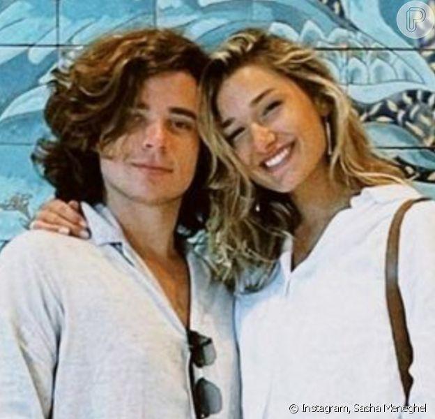 Sasha Meneghel e João Figueiredo mostraram momentos inéditos da lua de mel em conta de Instagram