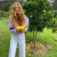 Marina Ruy Barbosa celebrou aniversário na fazenda do namorado, Guilherme Mussi