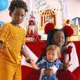 Giovanna Ewbank mostra looks dos filhos para festa de 1 ano de Zyan