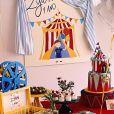Giovanna Ewbank mostra decoração da festa de 1 ano de Zyan