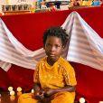 Filho de Giovanna Ewbank, Bless usou conjunto mostarda: 'Mágico'