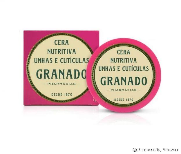 Cera Nutritiva Unhas e Cutículas Pink, Granado