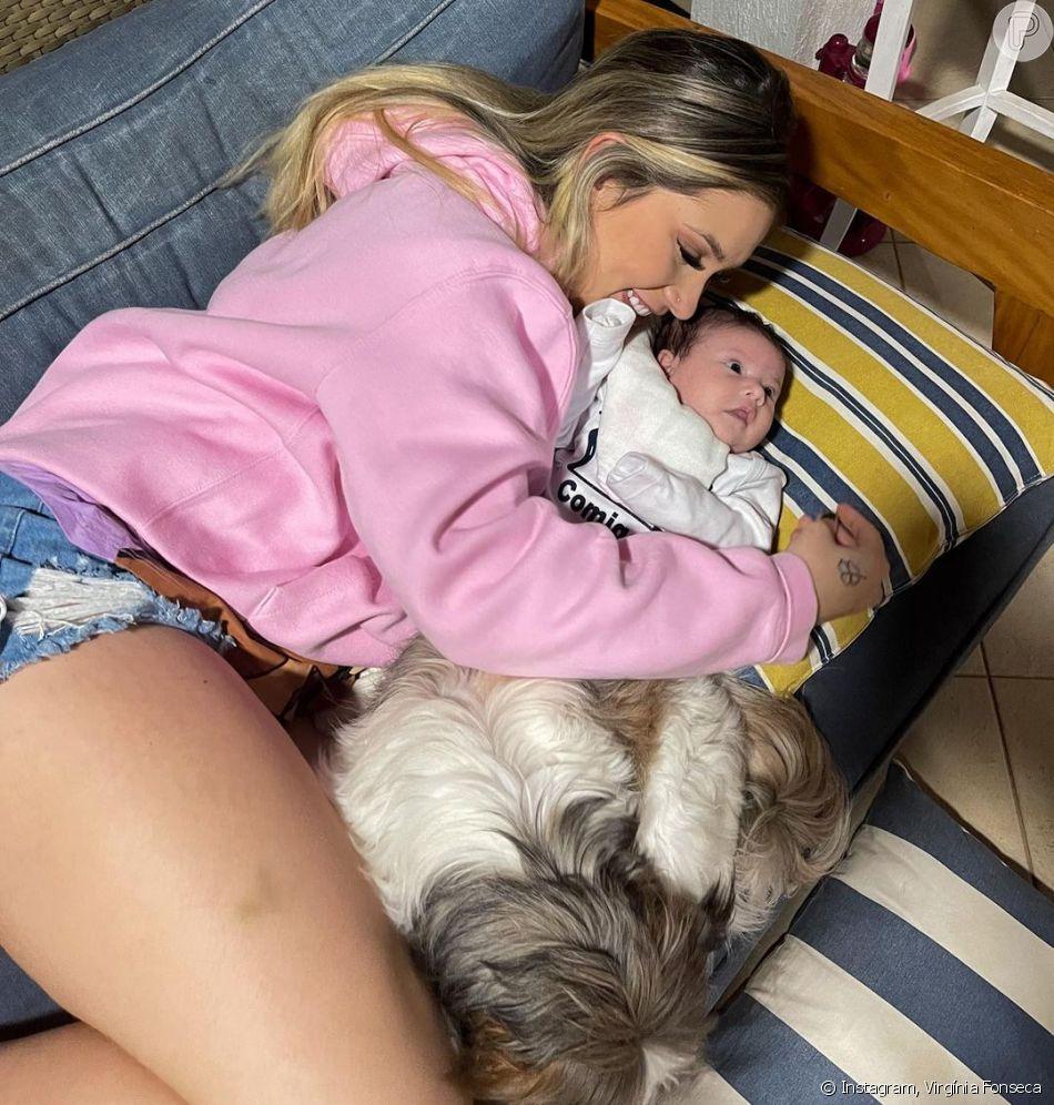 Virgínia Fonseca mandou fazer cápsulas para tomar a placenta da filha