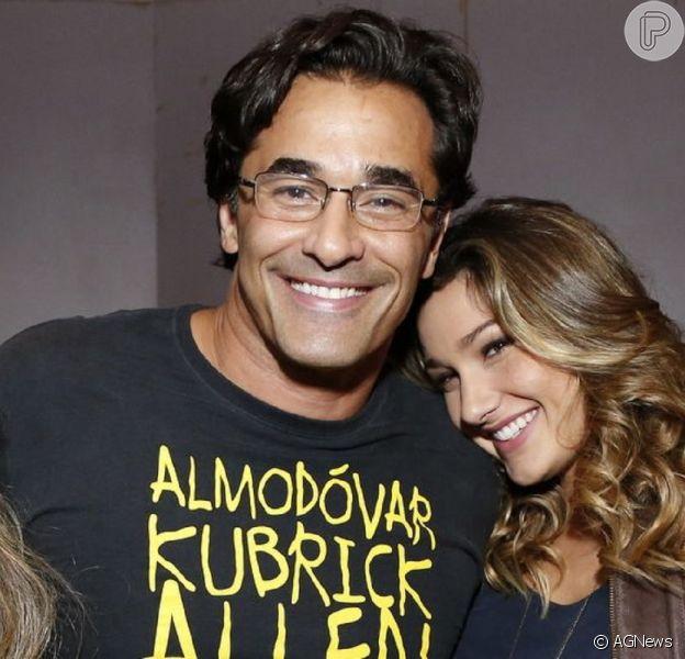 Sasha agradece apoio ao pai, Luciano Szafir, internado com Covid desde junho