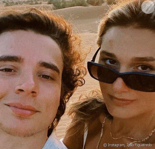 Sasha e o marido, João Figueiredo, retornam a São Paulo após melhora de Luciano Szafir