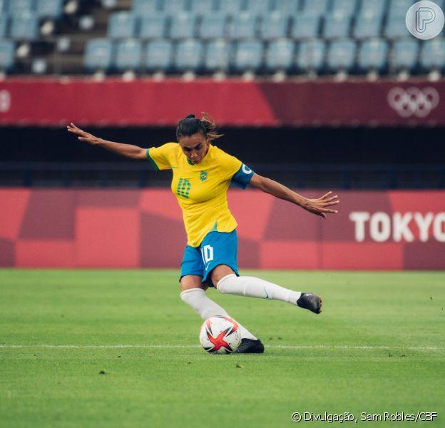 Marta usou segundo gol marcado nas Olimpíadas para se declarar à noiva