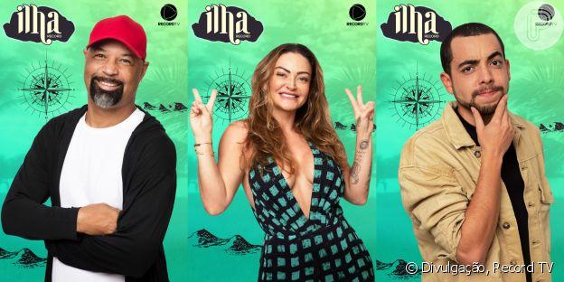 Saiba tudo sobre os participantes do 'Ilha Record': Dinei, Laura Keller e Lucas Selfie