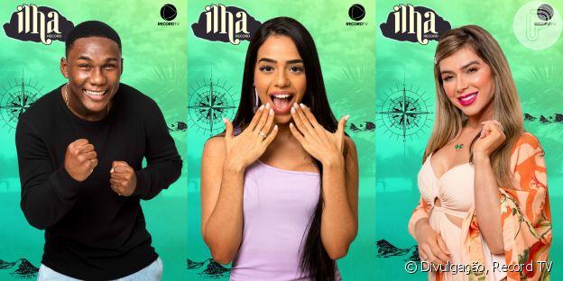 Saiba tudo sobre os participantes do 'Ilha Record': MC Negão da BL, Mirella Gêmea da Lacração e Nadja Pessoa