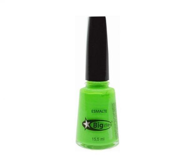 Esmalte Verde Neon, Big Universo