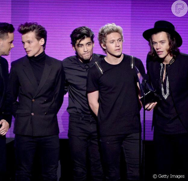 Onde Direction é o grande vencedor do American Music Awards 2014, realizado em Los Angeles, nos Estados Unidos, em 23 de novembro de 2014
