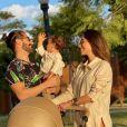 Romana Novais desabafa sobre cuidar dos filhos com Alok: 'Confesso que rotina da maternidade é enlouquecedora as vezes'