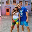 Anitta animou fãs ao interagir com Griffin Johnson na web