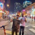 Fernando e Sorocaba passaram alguns dias em Nashville, cidade americana conhecida pela música country