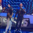 A cantora Simaria cantou com Xanddy no ensaio do 'Música Boa Ao Vivo'