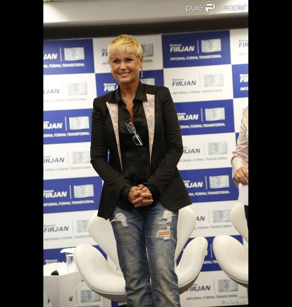 Xuxa comenta possível ida para a Record: 'Eu tenho um contrato com a TV Globo que eu preciso cumprir'