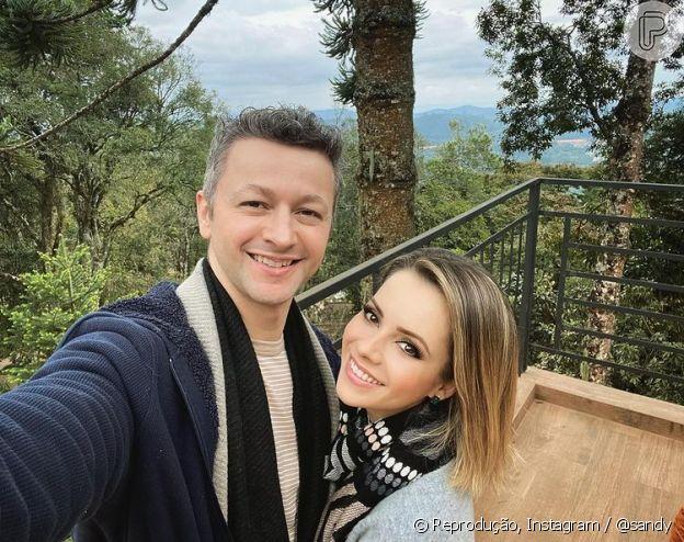 Sandy e Lucas Lima fazem aniversário de 13 anos de casamento