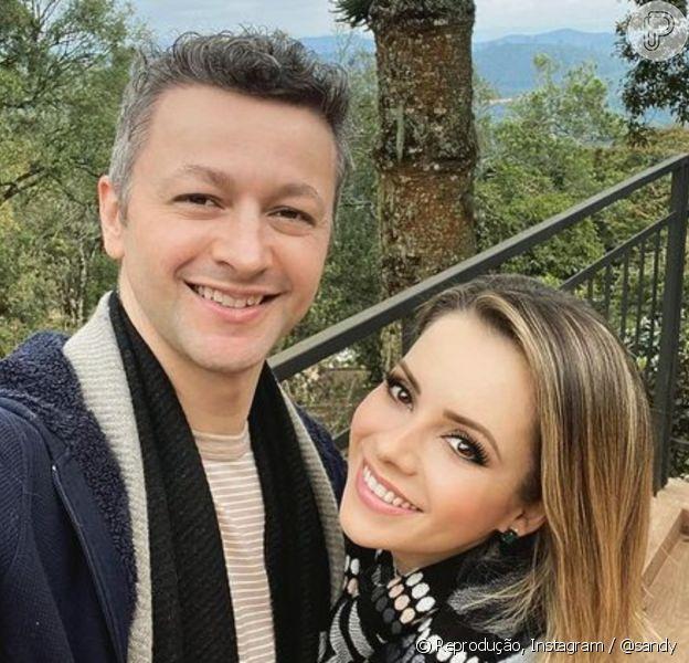 Sandy comemorou 13 anos de casada com Lucas Lima neste domingo (12)