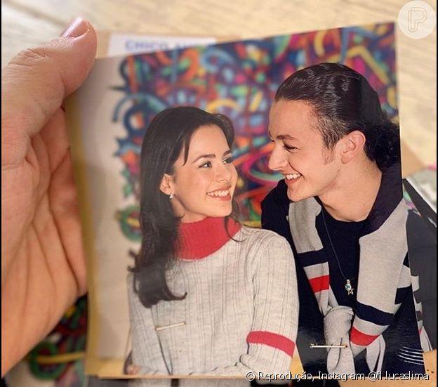 Sandy e Lucas Lima começaram a namorar em 1999