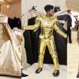 Lil Nas X surpreende com produção exuberante de 3 camadas no MET Gala 2021