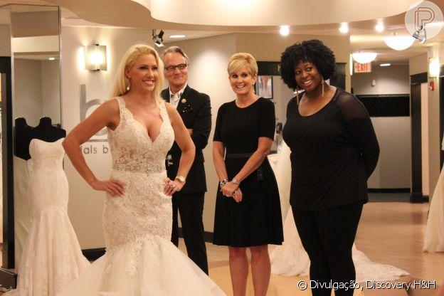 O reality 'Vestido Ideal' mostra a busca de noivas pelo look do grande dia