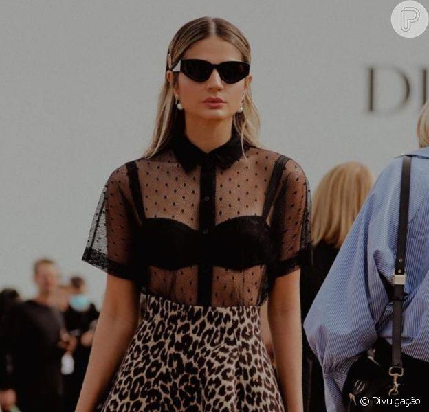 Tendências de moda direto de Paris! Os looks de Thássia Naves, Sabrina Sato e mais celebs