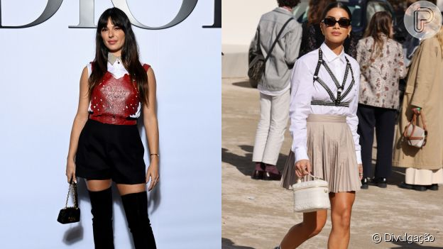 Sobreposição em looks de Isis Valverde e Camila Coelho