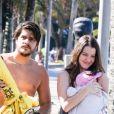 Nathalia Dill e Pedro Curvello são casados e tiveram Eva, de 9 meses