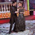 Lucas Lucco e Ana Paula Guedes foram parceiros na 'Dança dos Famosos', do 'Domingão do Faustão'