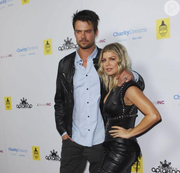 Josh Duhamel e Fergie estão esperando seu primeiro filho, que deve ser um menino, segundo declarações do ator nesta quinta-feira, 21 de março de 2013