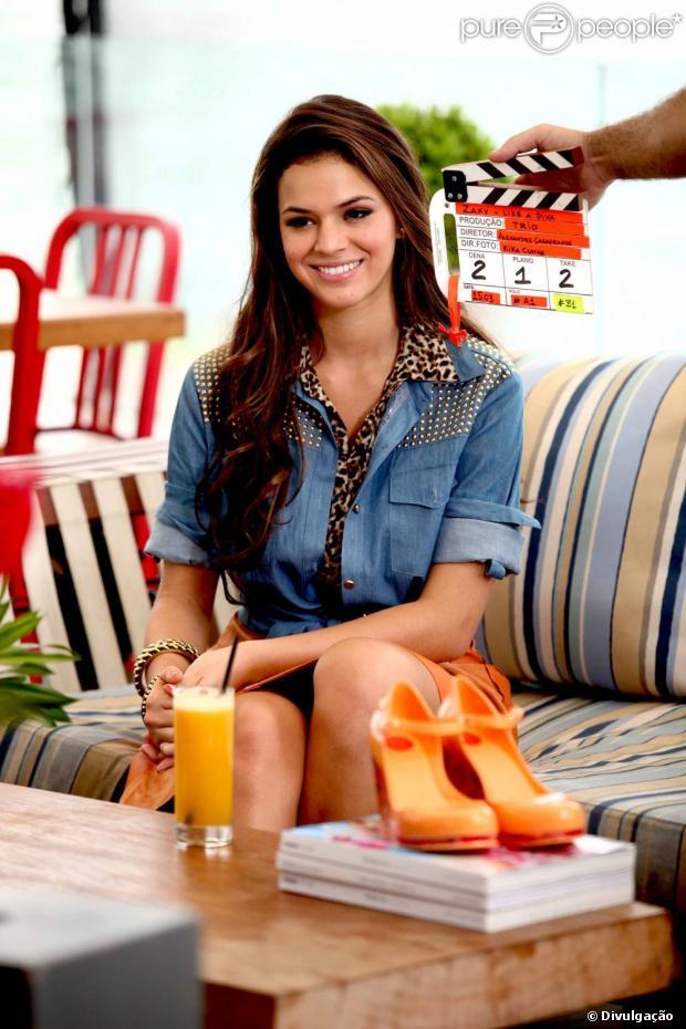 Em evidência por conta de sua personagem em 'Salve Jorge', Bruna Marquezine posou para mais um catálogo de moda