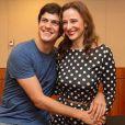 O casal, Mateus Solano e Paula Braun, trabalhou junto em 'Amor à Vida' e desde lá estão fora da televisão