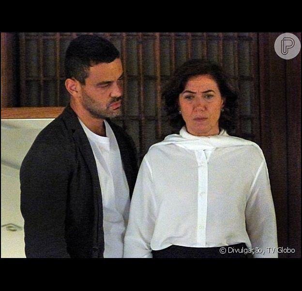 Maria Marta (Lilia Cabral) será humilhada por Maurílio (Carmo Dalla Vecchia), mas agendará o casamento com o vilão, na novela 'Império'