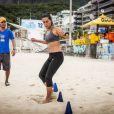 Para aumentar a força muscular, Carol Barcellos faz específicos para tornozelo, panturrilha, pernas e abdômen