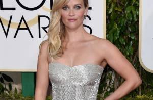 3b99ad607 Reese Witherspoon usa joias avaliadas em R$ 4 milhões no Globo de Ouro 2015