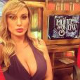 Andressa Urach é repórter do programa 'Muito Show', exibido pela RedeTV!