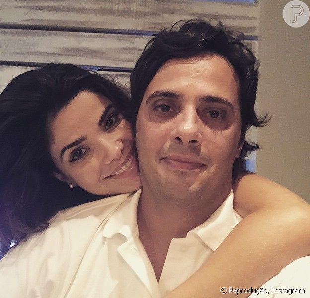 Vanessa Giácomo e Giuseppe Dioguardi são pais de Maria