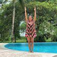 Narcisa Tamborindeguy é muito ativa no Instagram e sempre posta fotos com visuais incríveis ao fundo