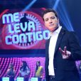 Rafael Cortez estava na Record à frente do programa 'Me leva contigo'