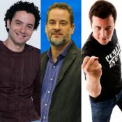 Band anuncia Rafael Cortez com Dan Stulbach e Marco Luque na bancada do 'CQC'